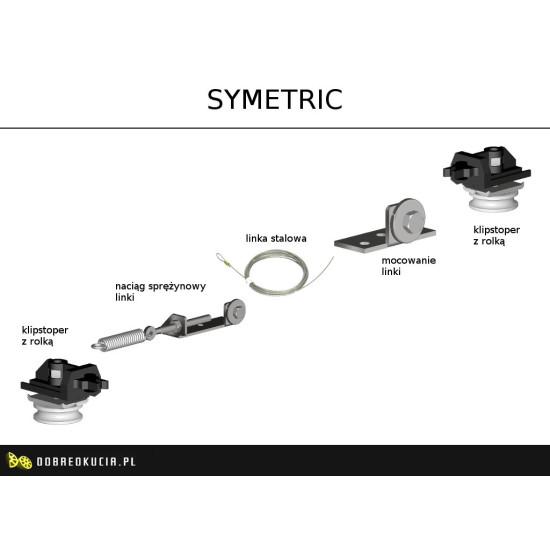 Механизм синхронного открытия 2х дверей Symetric для систем Herkules HS60 - Производитель Valcomp - Valcomp