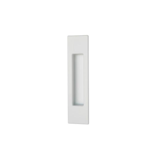 Ручка для раздвижной двери квадратная Белая - Производитель MVM - Раздвижные системы