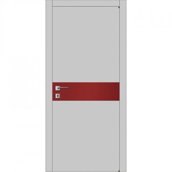 Модель А2.S со стеклом краш. по RAL - Производитель Ваши Двери - Межкомнатные двери