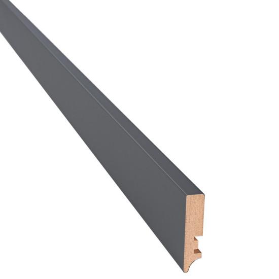 Плинтус прямоугольный антрацит - Производитель Новый Стиль - Новый стиль
