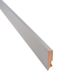 Плинтус прямоугольный серая пастель