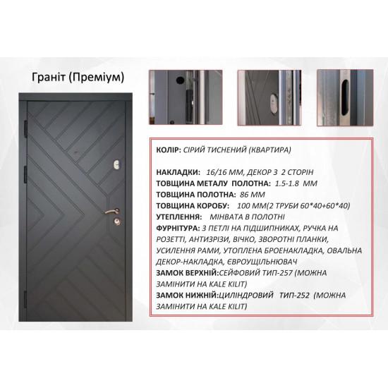 Модель Гранит - Производитель RedFort - Входные двери
